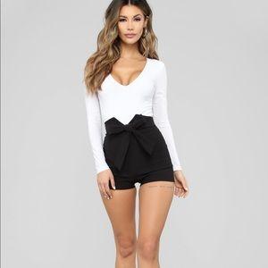 Fashion Nova High Waisted Shorts 1X